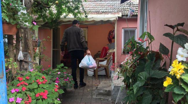 Gıda Bankası ekipleri köylerde