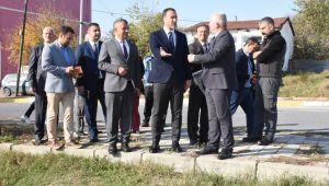 Başkan Yılmaz Büyükçavuşlu'ya çıkarma yaptı