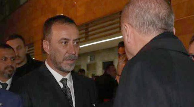 Başkan Yılmaz Cumhurbaşkanı Erdoğan ile görüştü
