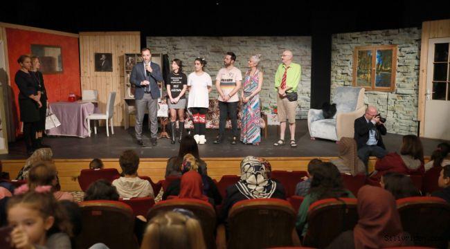 Köylerde yaşayan kadınlar tiyatro ile buluştu