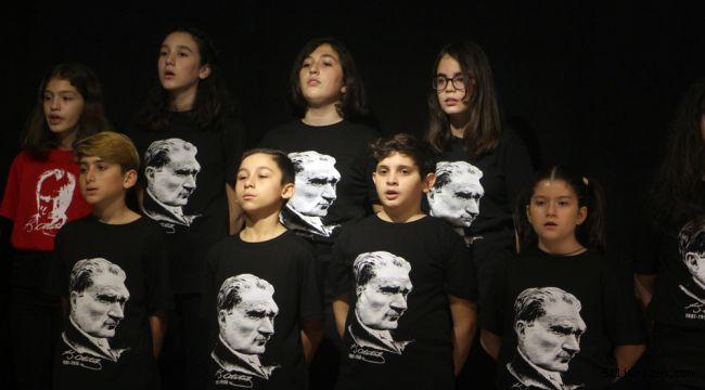 Odak Okulları Atatürk'ü andı