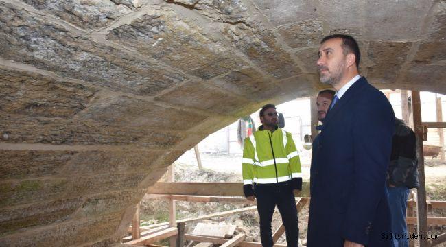 32 Köprüde çalışmalar devam ediyor