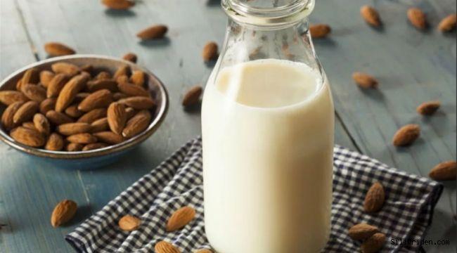 Badem sütünün faydaları neler kötü kolesterolü düşüyor!