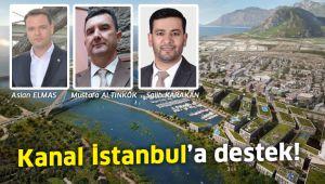Kanal İstanbul'a vatandaştan destek