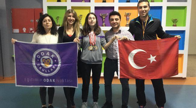 Odak öğrencisi Silivri'ye şampiyonluk getirdi