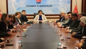Başkan Esen ve yönetimi Kaftancıoğlu'nu ziyaret etti