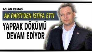 Aslan Elmas, AK Parti'den istifa etti