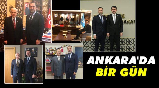 Başkan Yılmaz'ın Ankara temasları