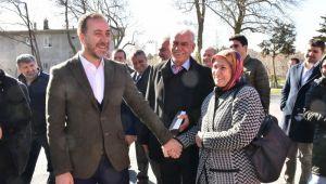 Başkan Yılmaz köy ziyaretlerine devam ediyor