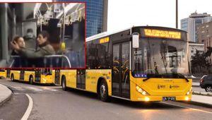 Otobüste öpüştüler!