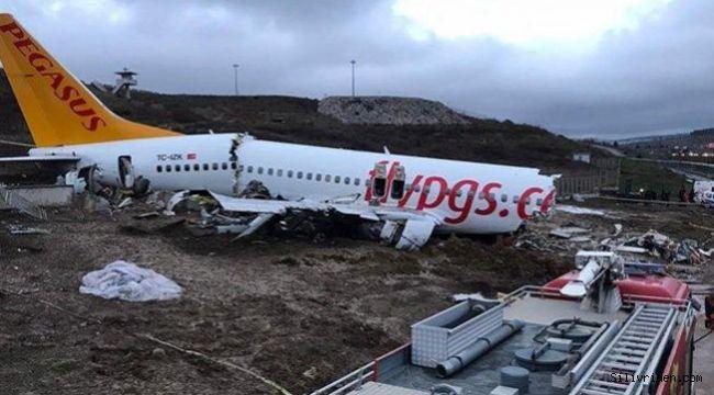 Sabiha Gökçen'deki uçak kazasıyla ilgili iki pilota soruşturma