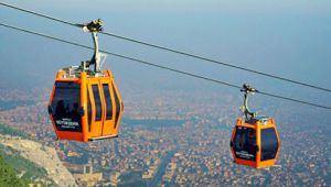 İstanbul'da teleferik seferleri durduruldu