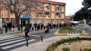 İstanbullular koronavirüs testi için kuruğa girdi