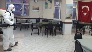 Silivri Belediyesi 46 noktada dezenfekte çalışması yaptı