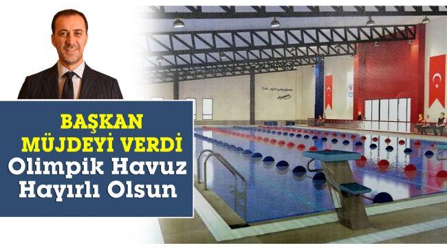 Silivri'ye olimpik havuz hayırlı olsun