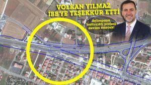 Başkan Yılmaz, Selimpaşa battı-çıktı projesi devam edecek