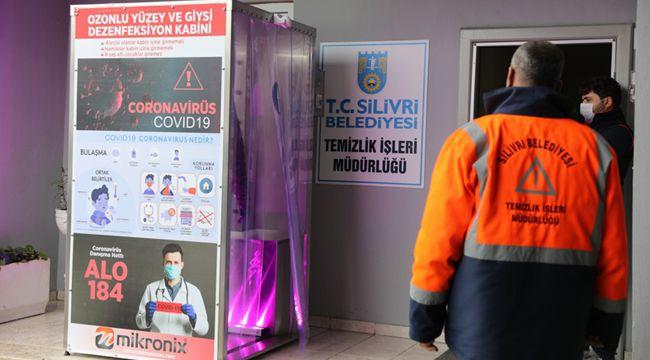 Belediye personeli, mesaiye dezenfekte edilerek başlıyor