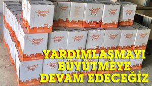 CHP, yardım paketlerini sahiplerine ulaştırmaya devam ediyor