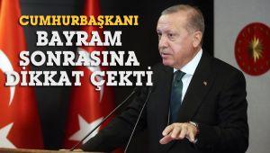 Cumhurbaşkanı Erdoğan, Ramazan sonrası çifte bayram olabileceğini açıkladı