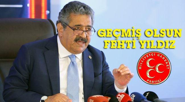 MHP'li Feti Yıldız'a korona teşhisi konuldu