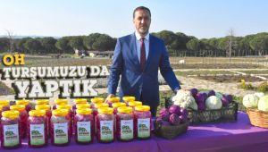 Silivri Belediyesi turşu üretimine geçti