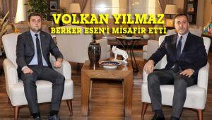 Yılmaz, CHP İlçe Başkanı Esen'i makamında ağırladı