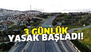 31 şehirde ilan edilen sokağa çıkma yasağı başladı