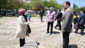Başkan Yılmaz, Çanta'ya el attı