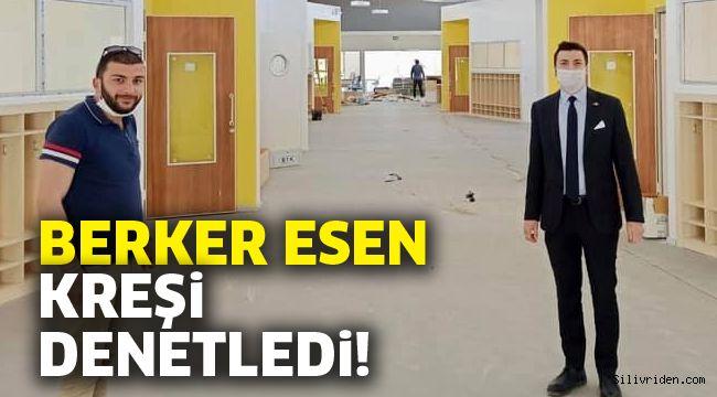 Berker Esen'den kreş için Silivri Belediyesi'ne teşekkür