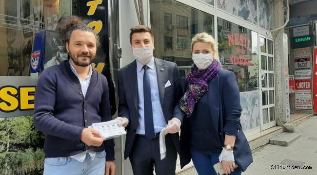 CHP'den vatandaşa ücretsiz maske