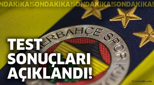 Fenerbahçe koronavirüs test sonuçlarını açıkladı!