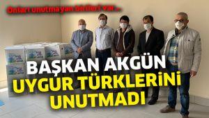 Hasan Akgün Uygur Türklerini unutmadı