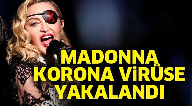 Madonna korona virüse yakalandı