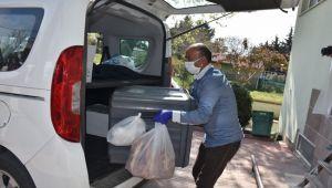 Silivri Belediyesi, 184 haneye düzenli yemek götürüyor