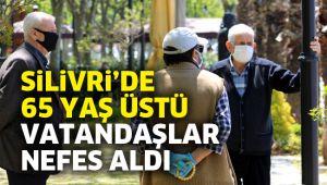 Silivri'de 65 yaş üstü vatandaşlar nefes aldı