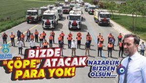 Volkan Başkan'dan 33 araçlık gövde gösterisi