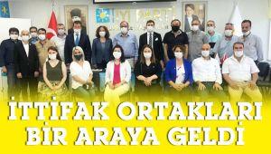 CHP'den İYİ Parti'ye ziyaret
