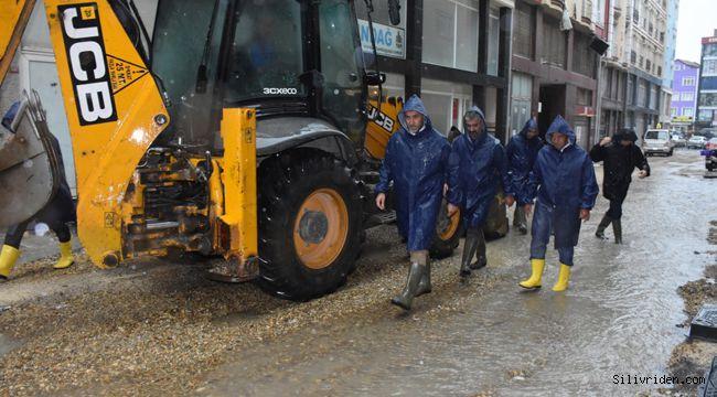 Silivri Belediyesi yoğun mesai harcadı