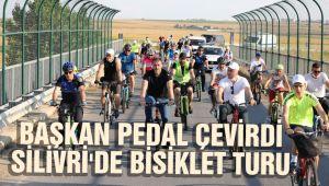 Silivri Belediyesinden bisiklet turu