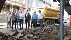 Silivri'nin sokakları yenileniyor