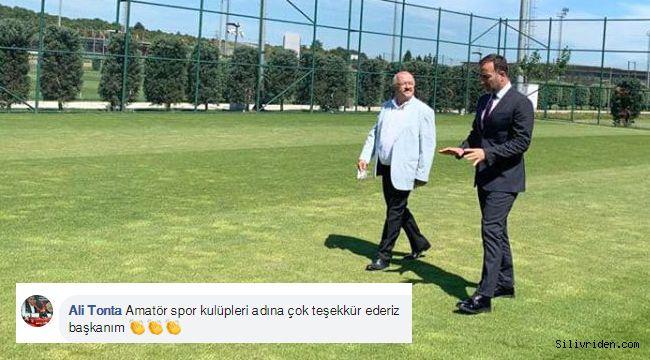 Tonta'dan Yılmaz'a Değirmenköy Stadı teşekkürü