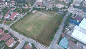 Yılmaz, Değirmenköy'e yeni stad için start verdi