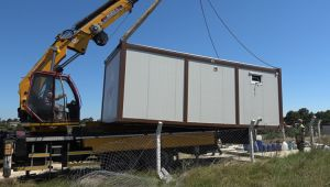 Belediyeden kaçak konteyner operasyonu