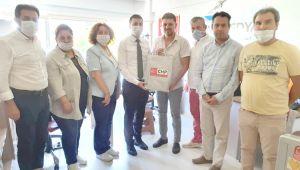 CHP, basın mensuplarının bayramını kutladı