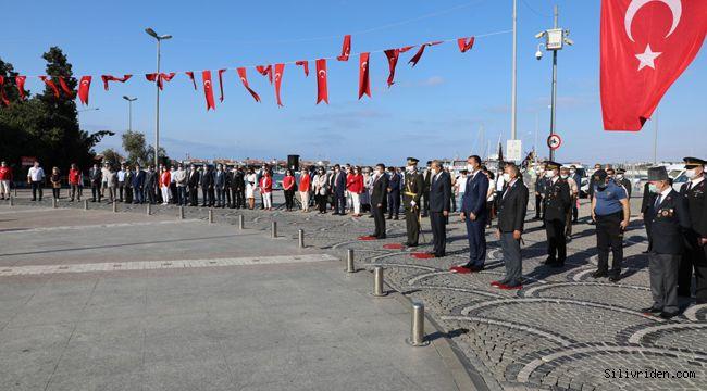 30 Ağustos Silivri'de kutlandı