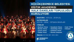 Anadolu'nun dört bir köşesinden Halk Oyunları Küçükçekmece'de