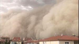 Meteoroloji'den 7 il için toz fırtınası uyarısı