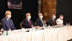 Vali Yerlikaya'dan Silivri'de pandemi toplantısı