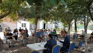 Zekeriya Artar, eğitimcilerle buluştu