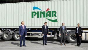 Çin, Pınar ürünleri ile buluşuyor
